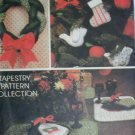 McCall 5380 Avon Christmas patterns UNCUT runner placemat wreath stocking