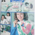 Soft and Silky Fabric Painting patterns and instructions craft booklet Design Originals