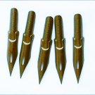 5 fountain pen nib tips Falcon bronze Spencerian No 30 1 5/8 inches