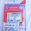 Official America's Cup stamp collection 1987 sealed packet Souvenir album