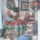 Simplicity 8806 Christmas decorations pattern ornaments angel wreath UNCUT