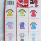 Butterick 6232 girls tabard dress top pants size 2 3 4 5 UNCUT