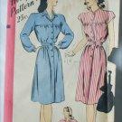 Hollywood vintage pattern 1544 size 16 bust 34 dress circa 1940s