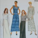 McCall 2975 misses dress overdress and top sizes 10 12 14 UNCUT pattern