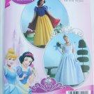 Simplicity 2813 Disney Snow White Cinderella costume misses pattern UNCUT sizes 6 8 10 12