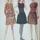 McCall 2043 misses dress pattern 1969 vintage size 10 B 32 1/2 UNCUT