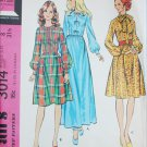 McCall 3014 misses dress UNCUT pattern size 8 B31 1/2 from 1971