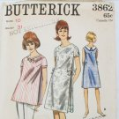 Butterick 3862 maternity dress or overblouse pattern size 10 B31 vintage