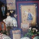 Cross stitch pattern booklet Folksy Angel Inspirations by Alma Lynne