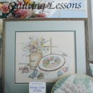 Leisure Arts 605 leaflet Quilting Lessons cross stitch pattern