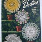 Flower Doilies to crochet vintage craft pattern book Star Book 64