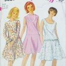Simplicity 6539 vintage 1966 dress pattern misses size 12 Bust 32