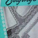 1949 vintage Handkerchief Edgings booklet crochet designs Coats Clark 256