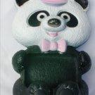 Avon Randy Panda soap dish vintage plastic pink hat