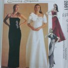 McCall 2861 misses elegant formal dress sizes 12 14 16 UNCUT pattern prom bridal