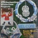 Plastic Canvas Magazine 11 pull Santa wreath sleigh more