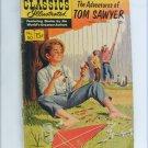 Tom Sawyer comic book Classics Illustrated volume 50 1948