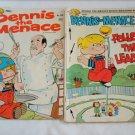 Dennis the Menace comic books vols 132 & 138 1974-5
