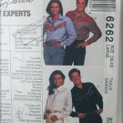 McCall 6262 western shirt pattern misses or men size 38 40 UNCUT