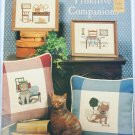 Cross stitch 3 page leaflet Primitive Companions cats dogs