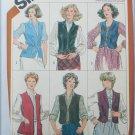Simplicity 5294 misses vest pattern size 16 UNCUT but NO DIRECTIONS