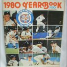 Detroit Tigers Baseball 1980 Yearbook Excellent Shape