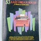 53 Easy Organ Solos Deluxe Collection John Lane popular songs