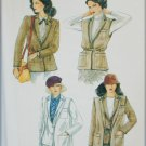 Vogue 7296 misses jacket and vest pattern size 12 UNCUT bust 34