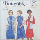 Butterick 3507 misses cardigan & dress size 12 UNCUT pattern