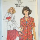 Vogue 8940 misses jacket only size 12 UNCUT retro pattern