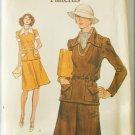 Vogue 9035 misses top & skirt size 12 uncut pattern bust 34