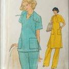 Vogue 9722 misses top tunic pants size 12 bust 34 UNCUT pattern