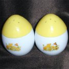 Avon Imperial Garden sachets egg salt and Pepper shakers vintage