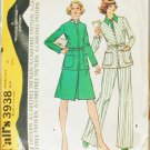 McCall 3938 misses jacket skirt pants size 12 UNCUT vintage 1974