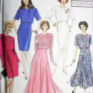 Simplicity 7502 sewing pattern sz 6 to 10 uncut dress with overbodice