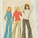 Simplicity 6642 child size 7 knit top and boy cut jeans pattern