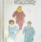 Simplicity 6956 misses smock size XL 18 pattern