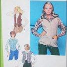 Simplicity 8685 woman's vest patterns size 12 bust 34 UNCUT 1978