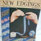 New Edgings Handkerchiefs Doilies book 109 crochet patterns vintage 1937