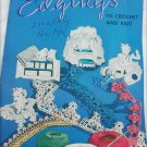 Edgings to Knit & Crochet book 149 patterns for doily edges vintage 1940