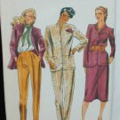 Butterick 6677 misses suit jacket skirt pants size 12 UNCUT pattern