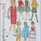 "Simplicity 5861 pattern for 9"" dolls like Skipper & Lil Sister UNUCT"