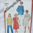 Simplicity 5320 misses smocks size 10 vintage 1981 pattern