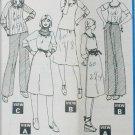 McCall 5702 misses knit dress top skirt size 14 16 UNCUT pattern