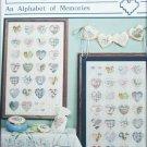Heart Strings Alphabet of Memories cross stitch patterns