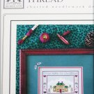 Drawn Thread Home for Christmas if Only in my Dreams cross stitch pattern