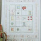 Needleworker's sampler counted cross stitch pattern design by Sue Hills