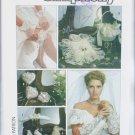 Simplicity 8530 bridal accessory pattern gloves purse ring bearer pillow garter