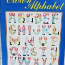 Clown Alphabet patterns by Just cross stitch #503 A to Z