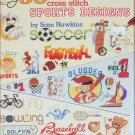 American School of Needlework 50 sports designs in cross stitch patterns #3570